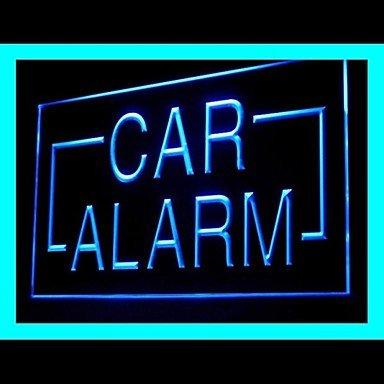 Car Alarm System Advertising Led Light Sign