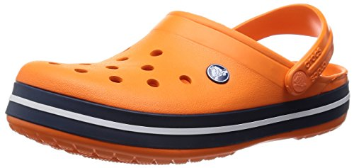 [クロックス] crocs CrocbandTM 11016 855(Orange/Navy/M9/W11)