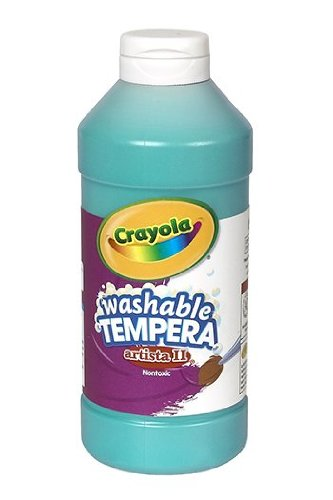 Binney & Smith Artista II Tempera Paint, Turquoise