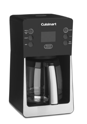 Cuisinart Coffee Maker Carafe Temperature : Cuisinart DCC-2800 Perfec Temp 14-Cup Programmable Coffeemaker, Black Black Coffee Maker