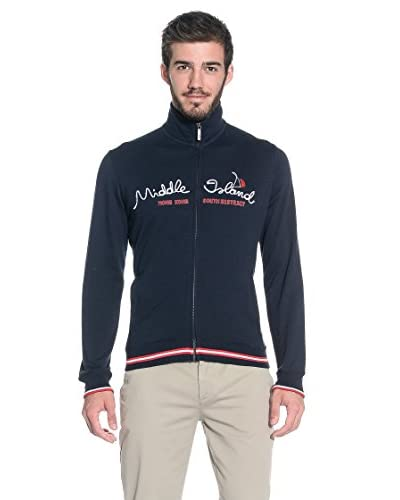 Slam Giacca Felpa Sweat Myaree [Blu Navy]
