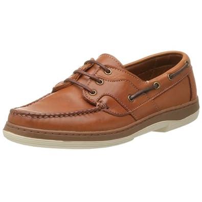 Allen Edmonds Men's Eastport Boat Shoe,Tan,7 D