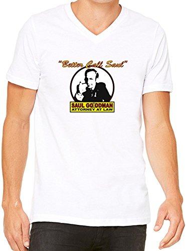 Better Call Saul T-Shirt V-Collo Donne XX-Large