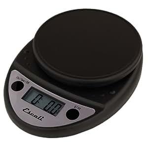 Primo Digital Kitchen Scale 11Lb/5Kg, Black