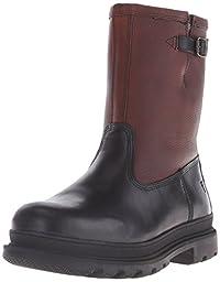 FRYE Men\'s Riley Pull On Rain Boot, Black/Multi, 10.5 M US