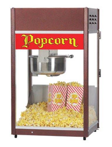 Gold Medal 1866 120240 Ultra P-60 Popper Popcorn Machine W/ 6-Oz Ez Kleen Kettle, 120/240V, Each