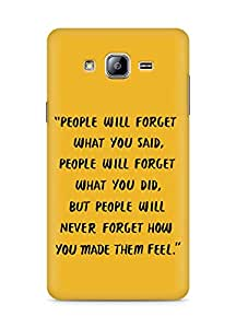 AMEZ people will forget what you said did Back Cover For Samsung Galaxy ON5
