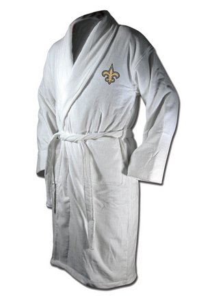 McArthur New Orleans Saints Bath Robe - New Orleans Saints One Size at Amazon.com
