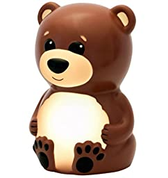Bowen Bear Portable Night Light Color Fade Mode Auto Off Special Need Sleep Aid