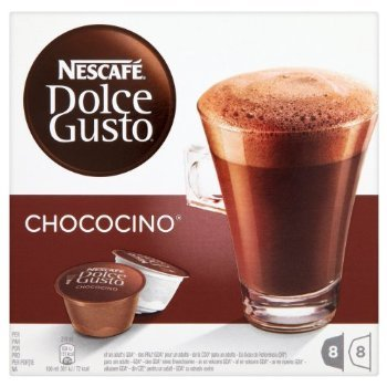 2 XNescafé Dolce Gusto Chococino 16 Capsules, 8 servings (Pack of 3, Total 48 Capsules/hot drinking chocolate pods, 24 servings)