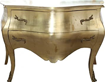 Casa Padrino baroque chest gold - Handmade from solid wood