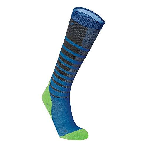 2xu-mens-striped-run-compression-socks-titanium-blue-medium