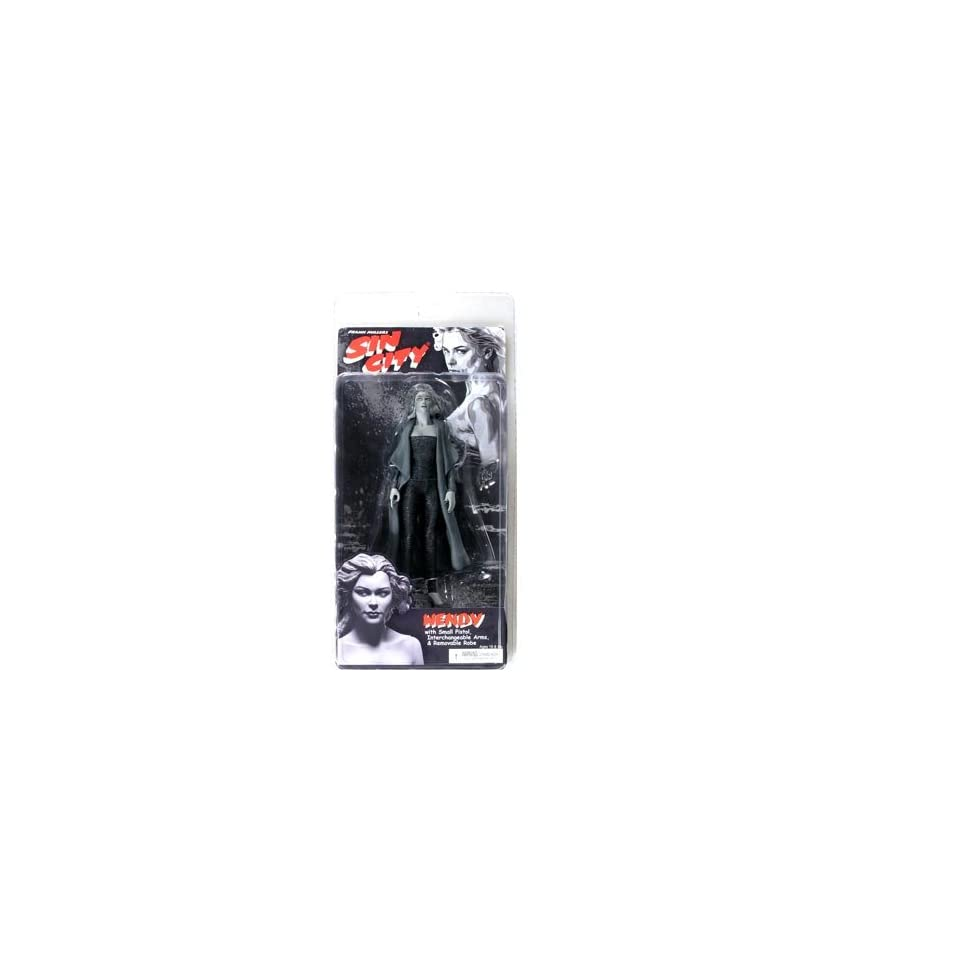 Sin City Series 2 Wendy (Black and White) Action Figure
