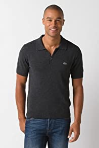 Jeffrey Short Sleeve Cashmere Polo