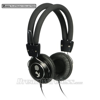 Dream Wireless Platinum Collection Beat Bass Series Headphones - Retail Packaging - Black