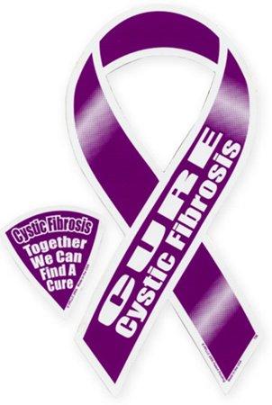 Cure Cystic Fibrosis Ribbon Magnet