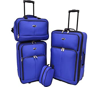 U.S. Traveler Potenza 4-Piece Luggage Set