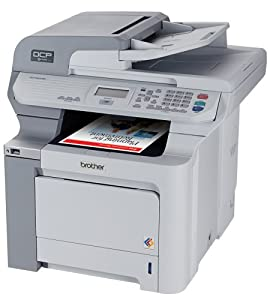 Brother DCP-9045CDN Color Laser Copier and Printer with Built-in Ethernet Network Interface and Duplex