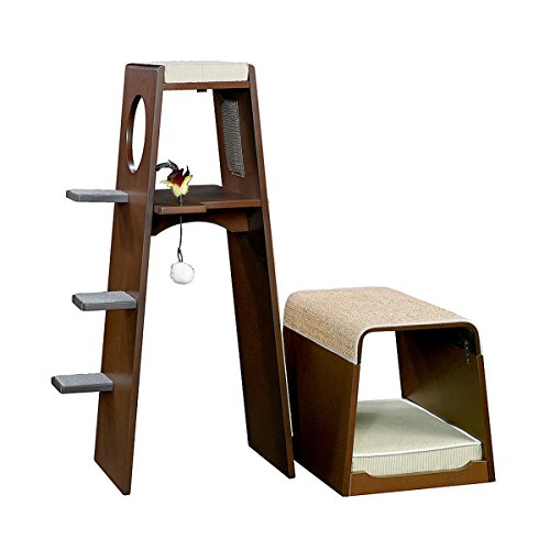 Sauder Modular Modern Cat Tower