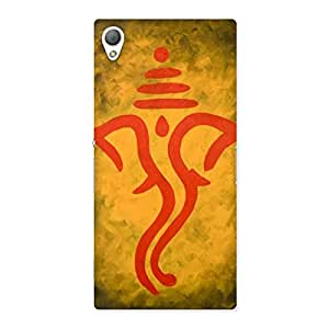 Cute Ganesha Art Back Case Cover for Sony Xperia Z3