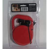 25 FT AUTO RETRACTABLE DOG LEASH WITH STOP LOCK LEADS DOGS UP TO 45 LBS NIP NEW