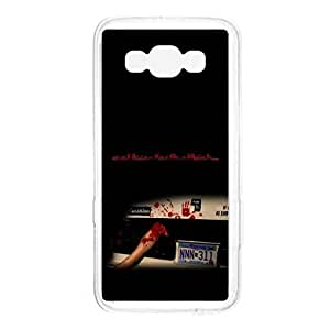 a AND b Designer Printed Mobile Back Cover / Back Case For Samsung Galaxy A7 (SG_A7_378)