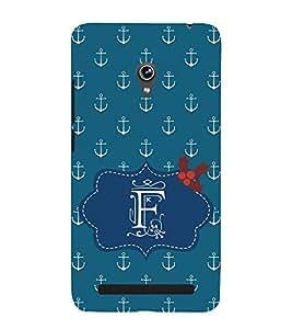 EPICCASE anchor of F Mobile Back Case Cover For Asus Zenfone 5 (Designer Case)