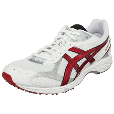 ASICS GEL-Tarther Running Shoe,White/Flame/Black,6.5 M US