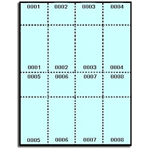 Pin blank raffle ticket template on pinterest for Office depot raffle ticket template