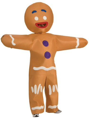 Halloween Costumes Shrek Gingerbread Man Costume