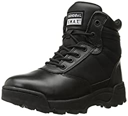 Original S.W.A.T. Men\'s Classic 6 Inch Side-Zip Military and Tactical Boot, Black, 10.5 D US