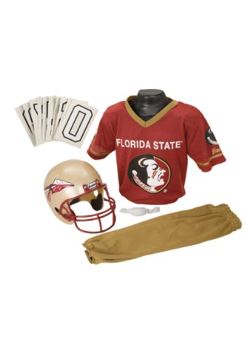 Franklin Sports NCAA Florida State Seminoles Deluxe Youth Team Uniform Set, Medium (Florida State Football compare prices)