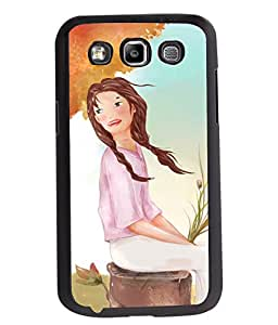 Fuson 2D Printed Girly Designer back case cover for Samsung Galaxy Quattro I8552 / Win I8550 - D4320