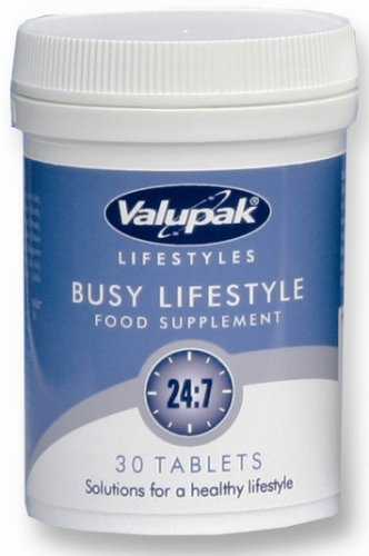 Valupak Lifestyles Busy Lifestyle Food Supplement 24:7 30 Tablets