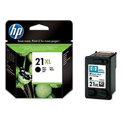 Hewlett Packard C9351CE - Cartucho Inyeccion Tinta Negro 21Xl Deskjet/3920/3940 Deskjet D/1560/2360/2460 Deskjet F/300/350/380/Serie 2200/2180/4100/4180 Psc/1400 Officejet/4315 Officejet J/3680