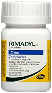 Rimadyl Chewables - 25 mg - 30 count