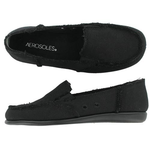 Aerosoles SO SOFT Black Fab 8 Medium
