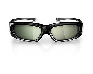 Philips PTA508/00 3D-Max Aktiv-Brille (Umschaltmöglichkeit 2-Spieler Fullscreen Gaming)