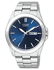 Citizen Quartz Date Blue Watch