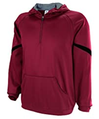 Russell Athletic Men's Technical Performance Fleece 1/4 Zip Hood