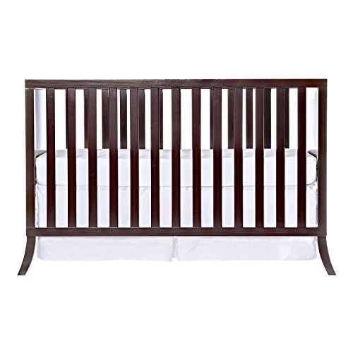 Dream On Me Madrid 5 in 1 Convertible Crib, Chocolate