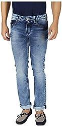 KILLER Men's Regular Fit Jeans (9111 TOKYO SLMFT MRNGBL_38, Blue, 38)