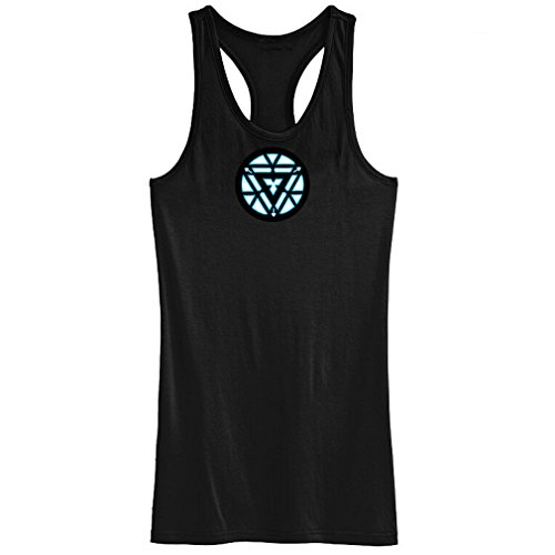 Iron Man 3 Tony Stark Vest Prop Replica Black Vest LED Tshirt For Men