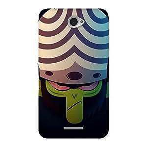 Moj Back Case Cover for Sony Xperia E4