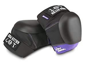 187 Killer Pro Derby Purple Knee Pads - Made by 187 Killer Pads for Roller Derby... by 187 Killer Pads