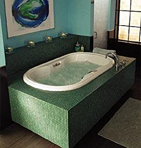Jacuzzi ej00969 venicia whirlpool bath with rapidheat for Motor for jacuzzi tub