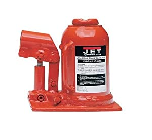 JET 453323K 22-1/2-Ton Capacity Heavy-Duty Low Profile Industrial Bottle Jack