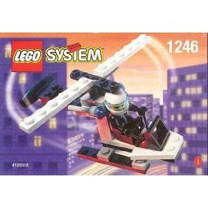 Lego City Mini Figure Set #1246 Helicopter - 1