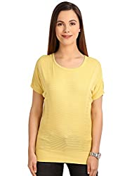 Manola Yellow Pointal Designed Top