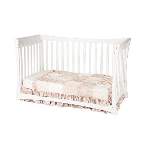 Child Craft Parisian 3 in 1 Stationary Crib, White
